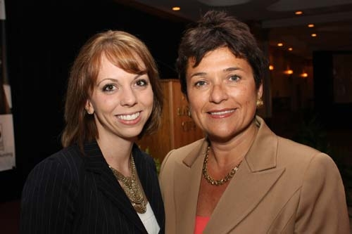 Lindsay Gietzen, PA and Dr. Lucia Zamorano